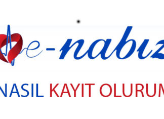 E-Nabız'a nasıl kayıt olurum