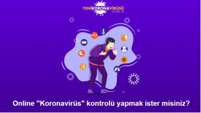 Online Corona virüsü test
