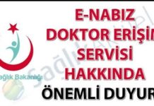 E-Nabız doktor erişimi