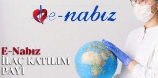E-Nabız İlaç Katılım Payı