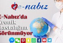E-Nabız'da kronik hastalığım görünmüyor