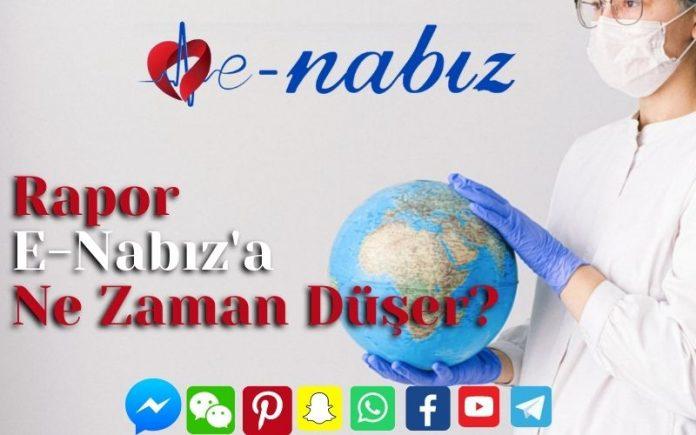 Rapor E-Nabız'a Ne Zaman Düşer