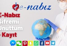 E-Nabız Şifremi Unuttum - Kayıt