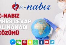 E-Nabız MHRS cevap alınamadı